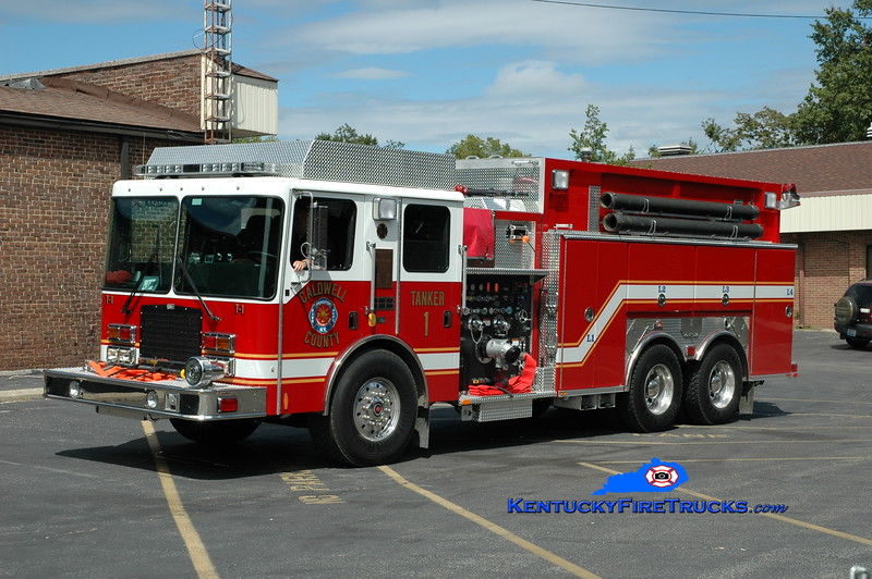 <center> Caldwell County  Tanker 1  <br> 2011 HME 1871-SFO/Ferrara 1250/2000 <br> Greg Stapleton photo </center>