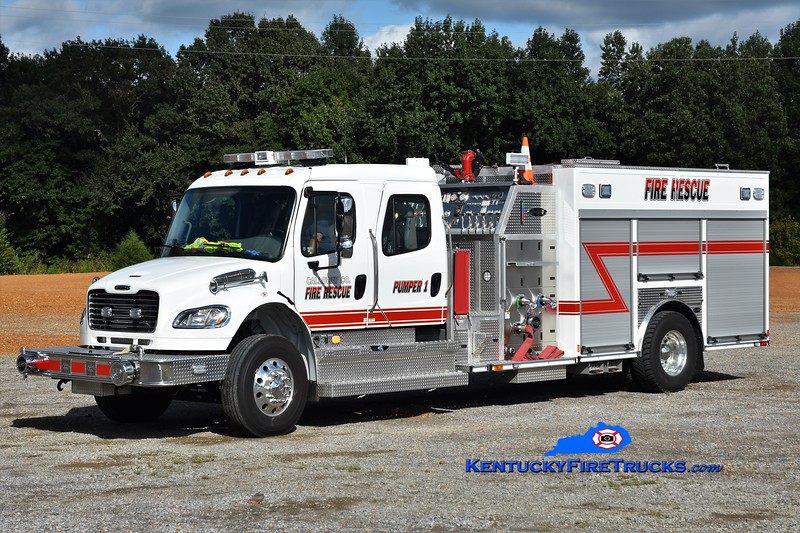 Calloway County  Pumper 1<br /> 2017 Freightliner M2-112/E-One 1250/1000<br /> Greg Stapleton photo