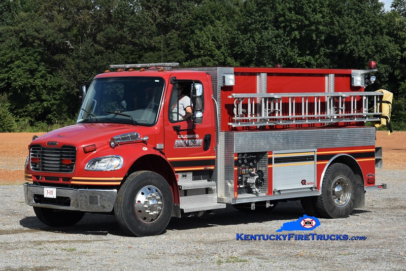 Calloway County  Tanker 111<br /> x-Blooming Grove, WI<br /> 2010 Freightliner M2-106/Rosenbauer-Central 500/2000<br /> Greg Stapleton photo