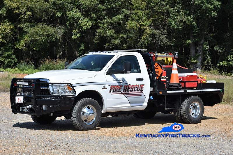 Calloway County Brush 1<br /> 2009 Dodge Ram 3500 4x4/UPF 100/200<br /> Greg Stapleton photo