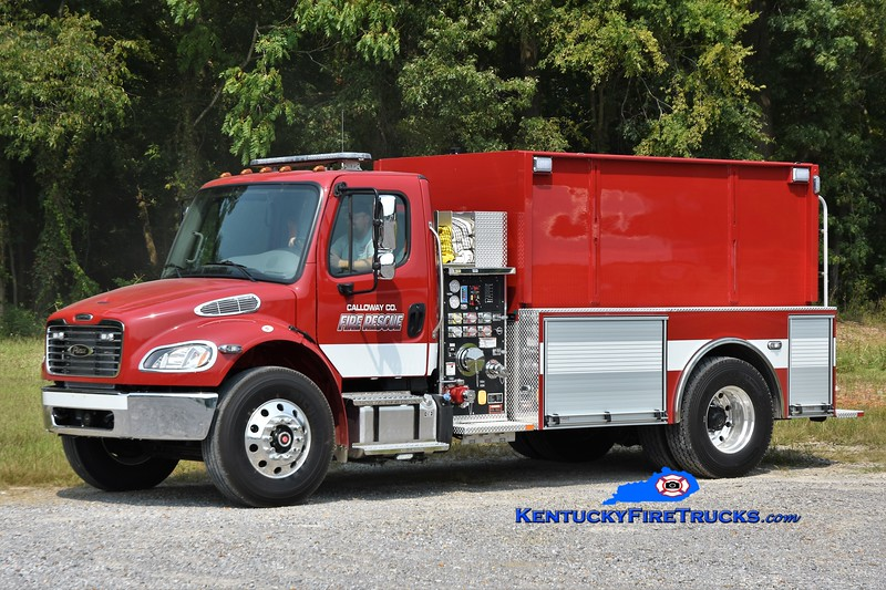 TO BE ASSIGNED <br /> Calloway County  <br /> 2021 Freightliner M2-106/Pierce 1000/2000<br /> Greg Stapleton photo