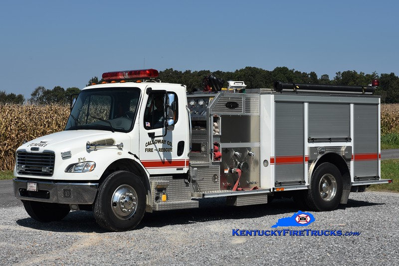 Calloway County  Pumper 6<br /> 2004 Freightliner M2-106/E-One 1250/1000<br /> Greg Stapleton photo