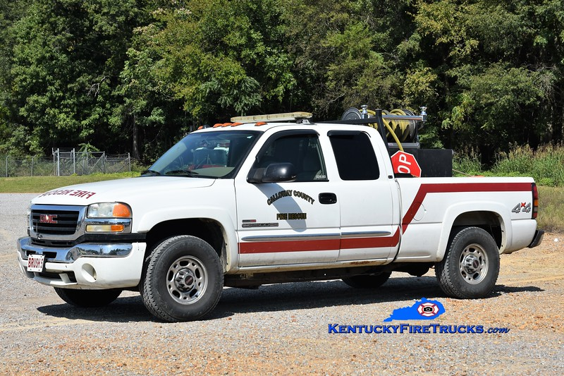 Calloway County Brush 5<br /> 2003 GMC 2500 4x4/Fast Attack 100/200<br /> Greg Stapleton photo