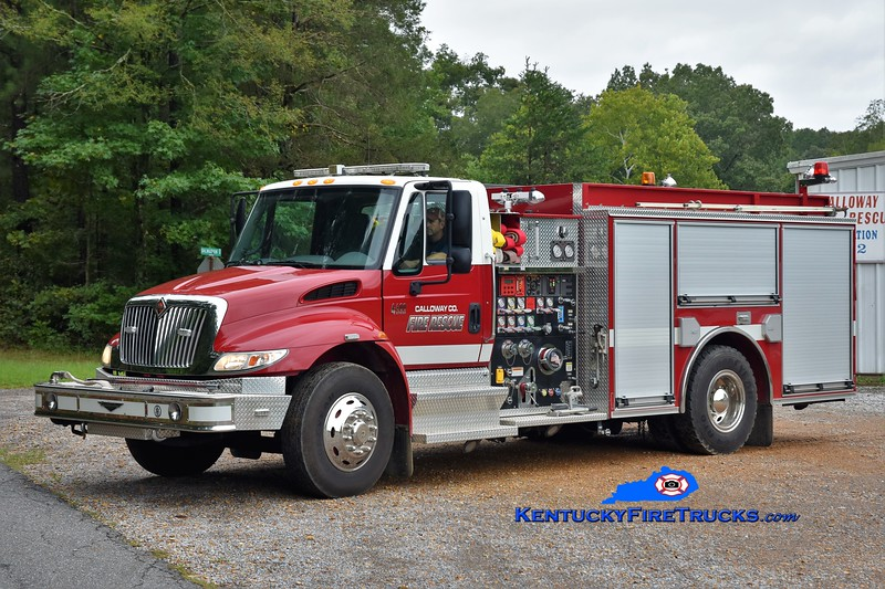 Calloway County  Pumper 2<br /> 2004 International 4400/Pierce 1250/1000<br /> Greg Stapleton photo