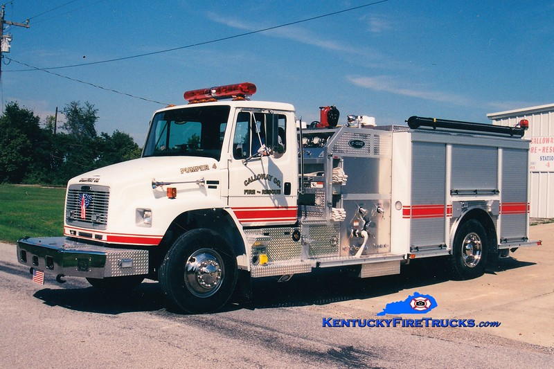 Calloway County Pumper 4 <br /> x-Pumper 11 <br /> 2003 Freightliner FL70/E-One/Superior 1250/1000 <br /> Greg Stapleton photo