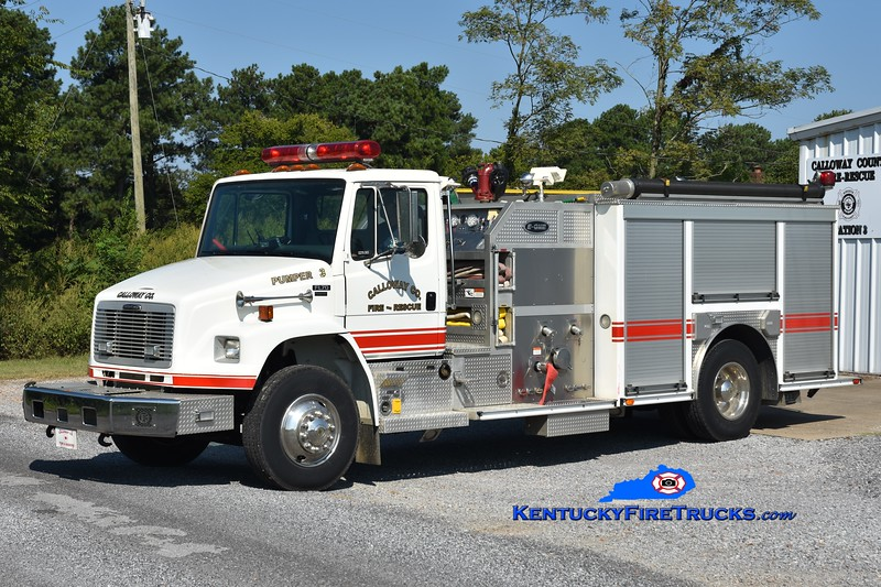 Calloway County Pumper 3<br /> x-Pumper 111<br /> 2003 Freightliner FL70/E-One 1250/1000<br /> Greg Stapleton photo