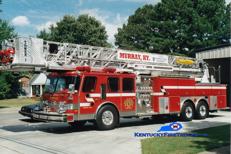 <center> Murray  Tower 1 <br> 1995 E-One Hurricane 1500/0/105' <br> Greg Stapleton photo </center>