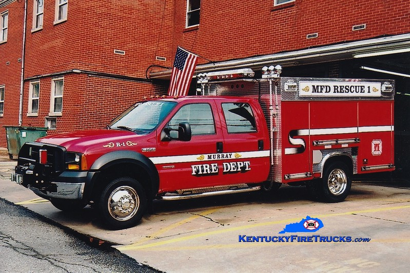 <center> Murray  Rescue 1 <br> 2005 Ford F-550 4x4/Unruh  <br> Greg Stapleton photo </center>