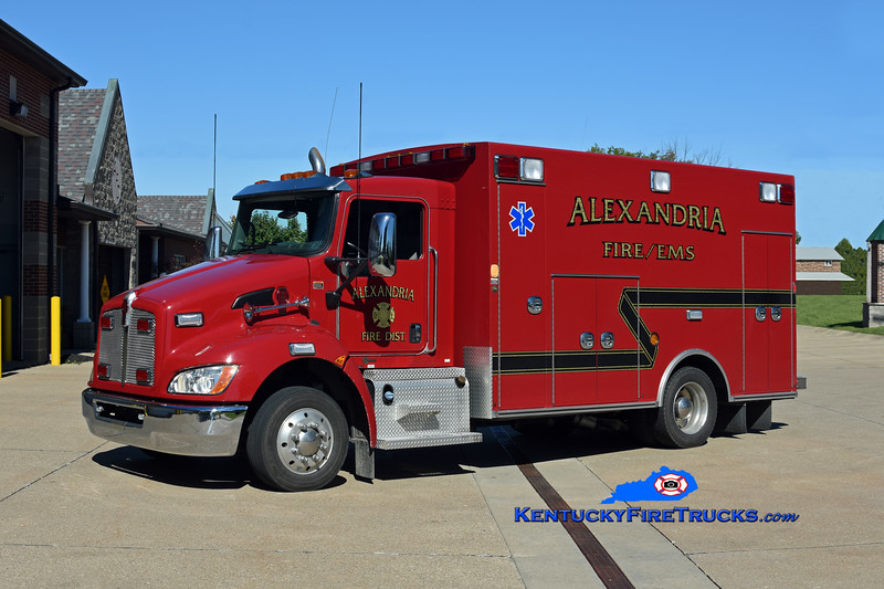 Alexandria  Squad 171<br /> 2012 Kenworth T-170/Braun<br /> Kent Parrish photo