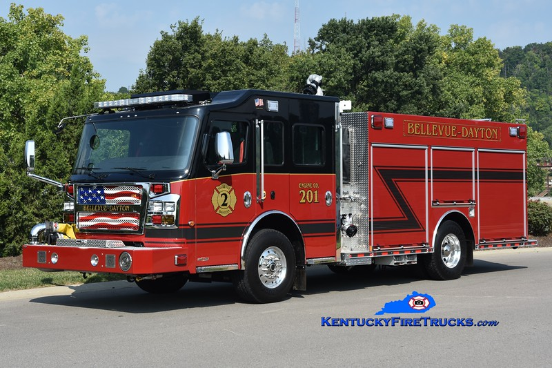 Bellevue-Dayton  Engine 201<br /> 2018 Rosenbauer Commander MP3 1500/750<br /> Greg Stapleton photo
