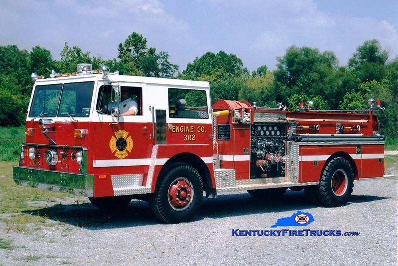 <center> RETIRED <br> Camp Springs  Engine 302  <br> 1973 Hendrickson/Pierce 1250/500  <br> Greg Stapleton photo </center>