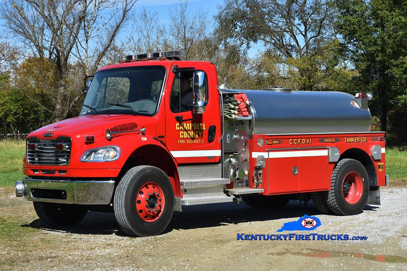 Campbell County Fire District 1  Tanker 532<br /> 2006 Freightliner M2-106/1980 S&S 450/1500<br /> Greg Stapleton photo
