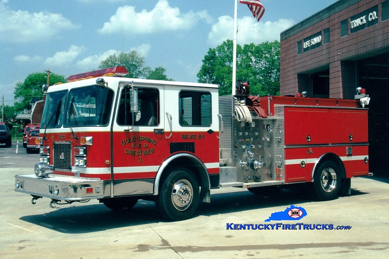 <center> NO LONGER IN SERVICE <br> Cold Spring-Crestview  Engine 403 <br> 1993 Spartan/Ferrara Invader 1250/750 <br> Greg Stapleton photo </center>