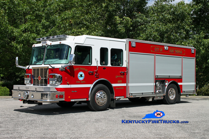 <center> Fort Campbell  Engine 601  <br> 2012 Spartan Metro Star/Crimson 1500/750/30 <br> Kent Parrish photo </center>