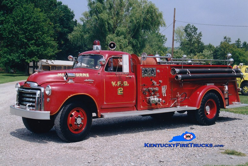 <center> RETIRED <br> Melbourne  Engine 802  <br> 1955 GMC/Ahrens-Fox 500/500 <br> Greg Stapleton photo </center>