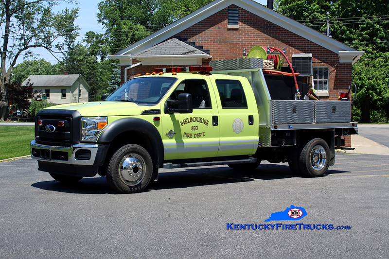 Melbourne  Brush 833<br /> 2010 Ford F-550 4x4/CET 250/250<br /> Kent Parrish photo
