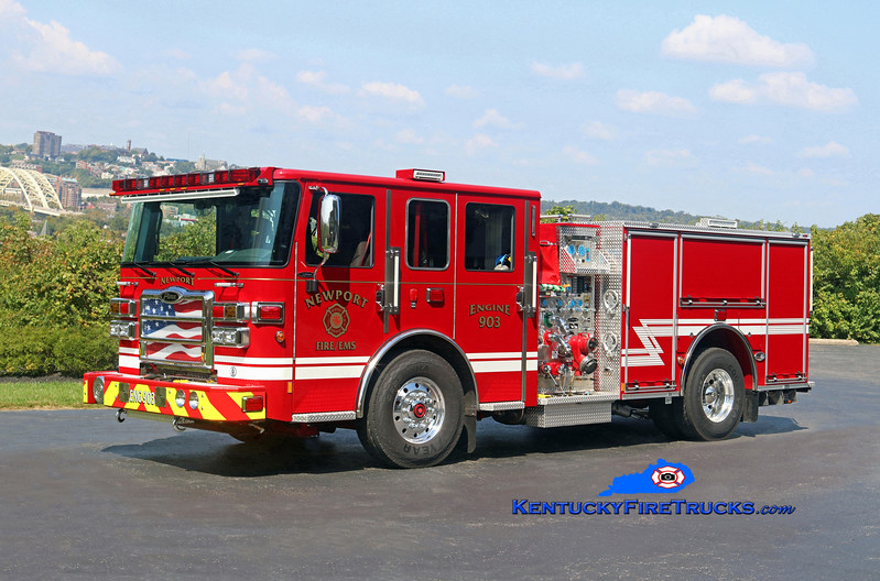 Newport  Engine 903<br /> 2017 Pierce Enforcer 1500/500<br /> Kent Parrish photo