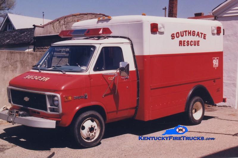 RETIRED<br /> Southgate  Rescue 1320<br /> 1973 Chevy<br /> Greg Stapleton photo