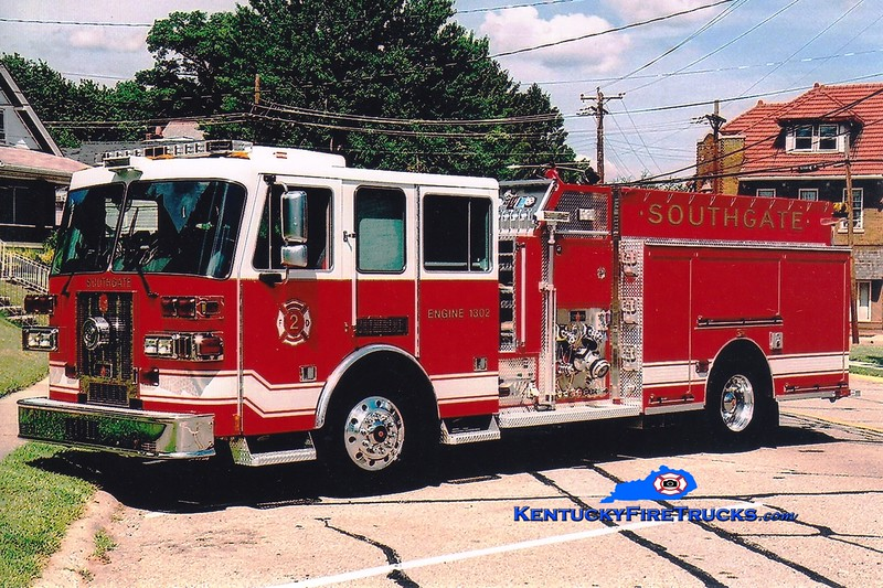 <center> Southgate  Engine 1302 <br> 2007 Sutphen 1500/750 <br> Greg Stapleton photo </center>