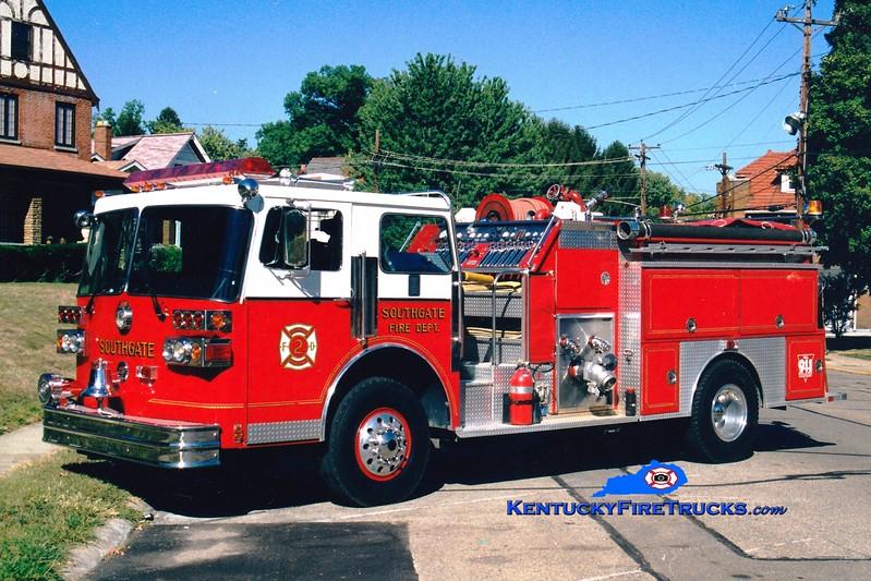 <center> RETIRED <br> Southgate  Engine 1302 <br> 1984 Sutphen Deluge 1250/600 <br> Greg Stapleton photo </center>