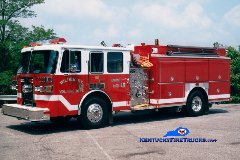 <center> Wilder  Engine 1405 <br> 1997 Sutphen/Precision 1500/1500 <br> Greg Stapleton photo </center>