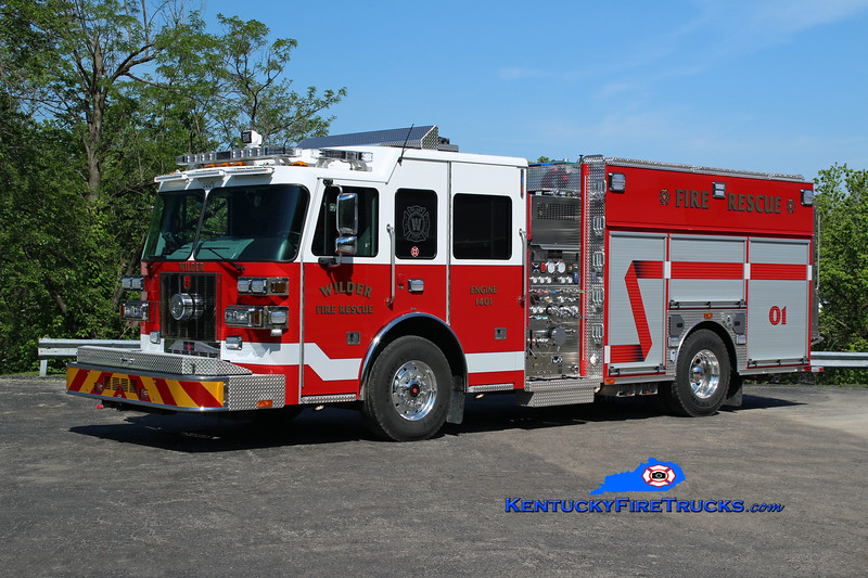 Wilder  Engine 1401<br /> 2016 Sutphen Shield 1500/750/30<br /> Kent Parrish photo