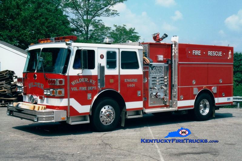 <center> RETIRED <br> Wilder  Engine 1401 <br> 1992 Sutphen Deluge 1750/750 <br> Greg Stapleton photo </center>