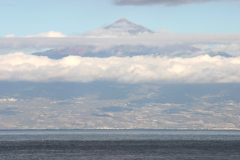Mount Teide, Tenerife, (from La Gomera), Canary Islands