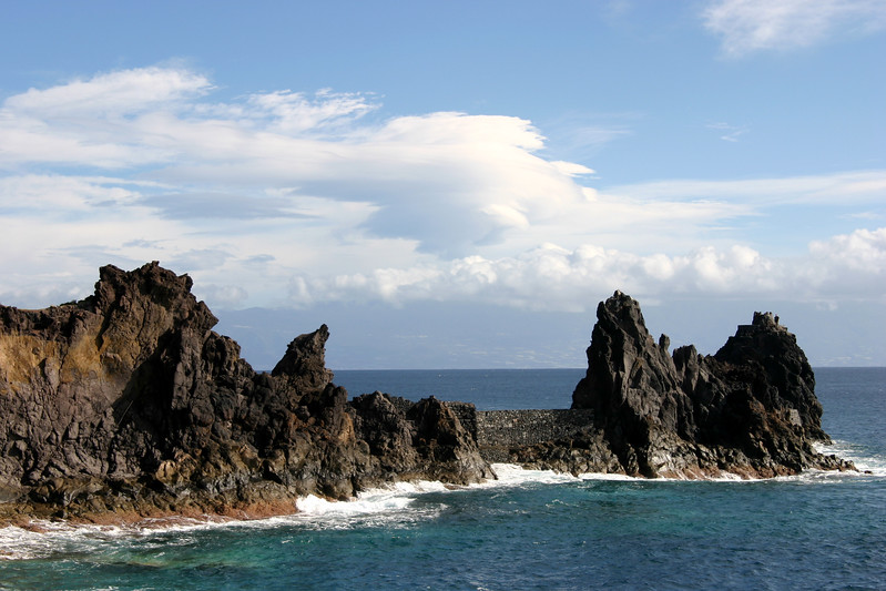 Playa de la Cueva, San Sebastian, La Gomera, Canary Islands