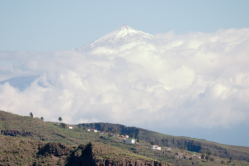 Teide from La Gomera, Canary Islands