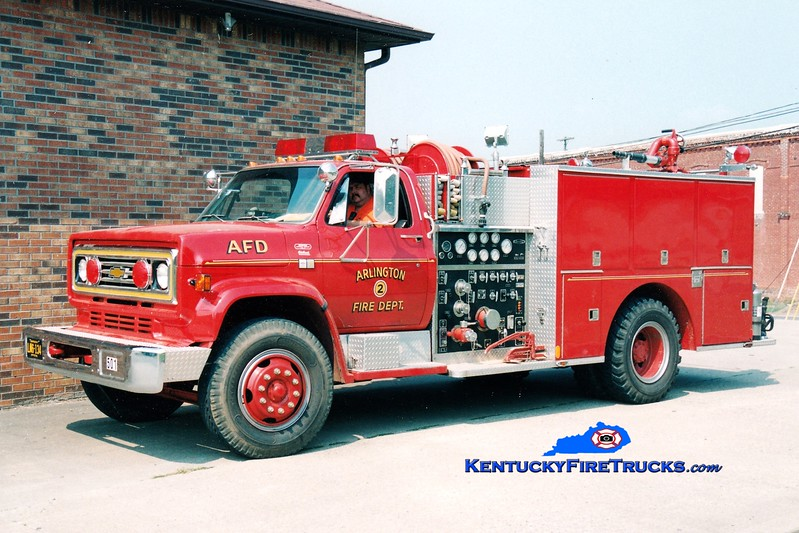 <center> Arlington Engine 502 <br> 1983 Chevy C60/Quality 1000/750 <br> Greg Stapleton photo </center>