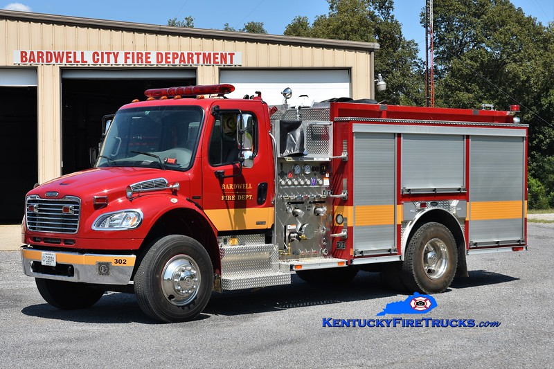 Bardwell  Engine 302<br /> x-Concord, KY<br /> 2007 Freightliner M2-106/E-One 1250/1000<br /> Greg Stapleton photo