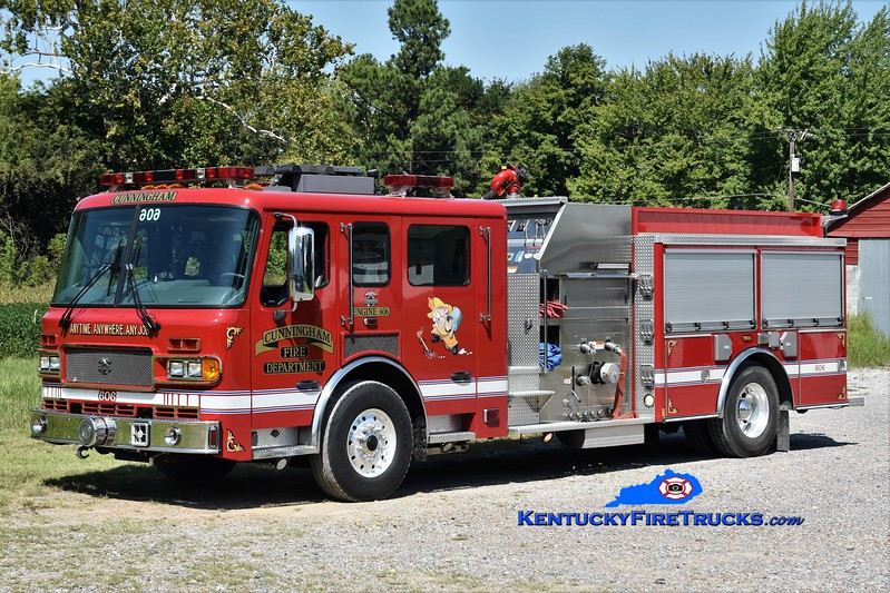 Cunningham  Engine 606<br /> x-Goose Creek, SC<br /> 2004 American LaFrance Metropolitan 1500/500<br /> Greg Stapleton photo