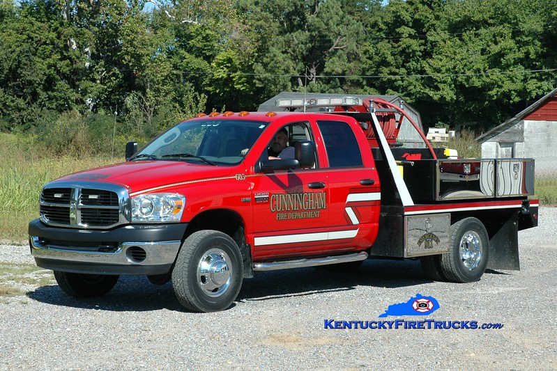 <center> Cunningham  Brush 605  <br> 2007 Dodge 3500 4x4/Wildfire 250/200 <br> Greg Stapleton photo </center>