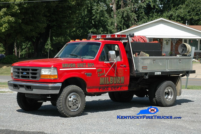 <center> Milburn  Brush 801  <br> 1996 Ford F-350 4x4/Darley 50/200 <br> Greg Stapleton photo </center>