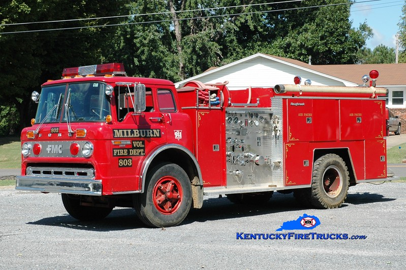 <center> Milburn  Engine 803  <br> 1982 Ford C-700/FMC 750/750 <br> Greg Stapleton photo </center>