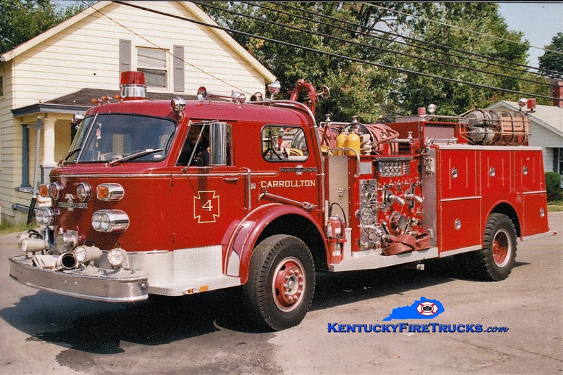 Carrollton Engine 4<br /> 1974 American LaFrance 1000 Series 1500/1000 <br /> Greg Stapleton photo