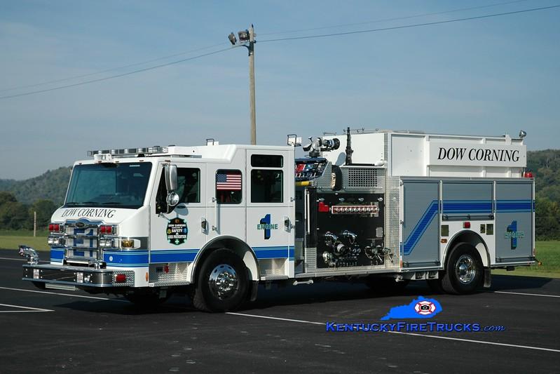 <center> Dow Corning  Engine 1  <br> x-Clarksville (TN) Site <br> 2011 Pierce Impel 2000/500/1000<br> Greg Stapleton photo </center>