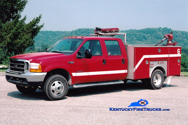 <center> RETIRED <br> Dow Corning  Unit 6  <br> 2005 Ford F-350/Summit Hose Wagon <br> Greg Stapleton photo </center>