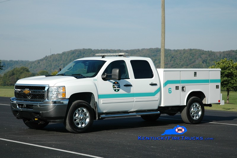 <center> Dow Corning  Unit 6  <br> 2013 Chevy 2500 4x4/Reading <br> Greg Stapleton photo </center>
