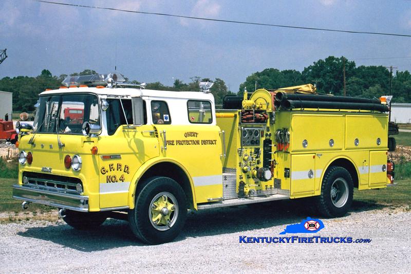 <center> RETIRED <br> Ghent  Engine 304  <br> 1977 Ford C-850/Grumman-Howe 1000/750 <br> Greg Stapleton photo </center>