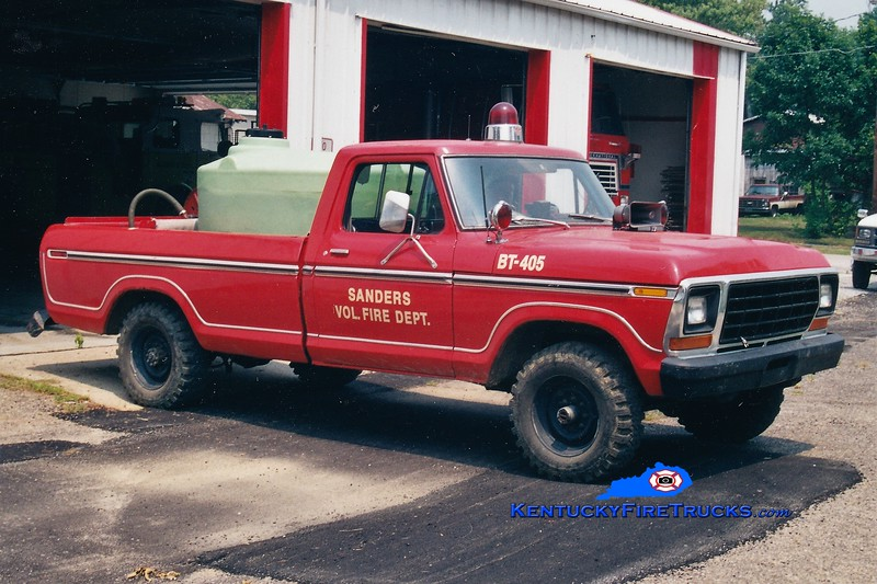 RETIRED<br /> Sanders  Brush 405<br /> 1978 Ford 4x4/FD 250/250<br /> Greg Stapleton photo