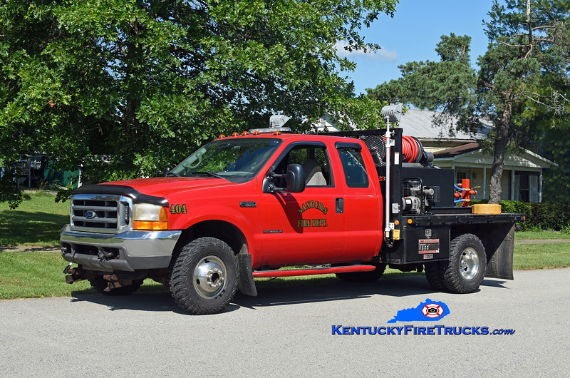 Sanders Brush 404<br /> 1999 Ford F-350 4x4/Fast Attack 250/250<br /> Kent Parrish photo
