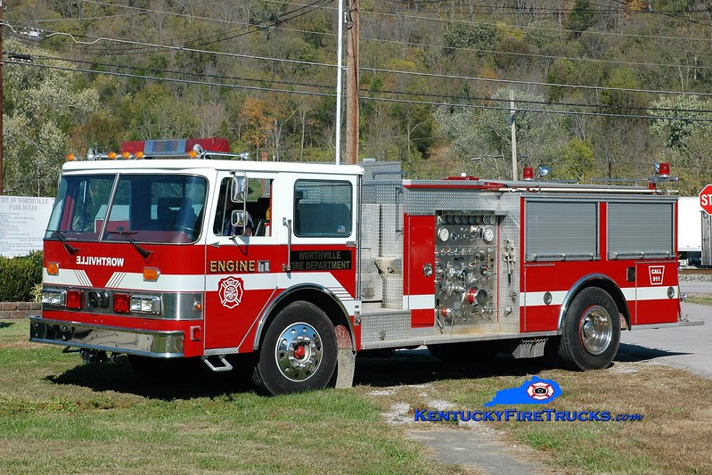 Worthville  Engine 603<br /> x-High Point, NC <br /> 1986 Pierce Arrow 1250/500<br /> Greg Stapleton photo