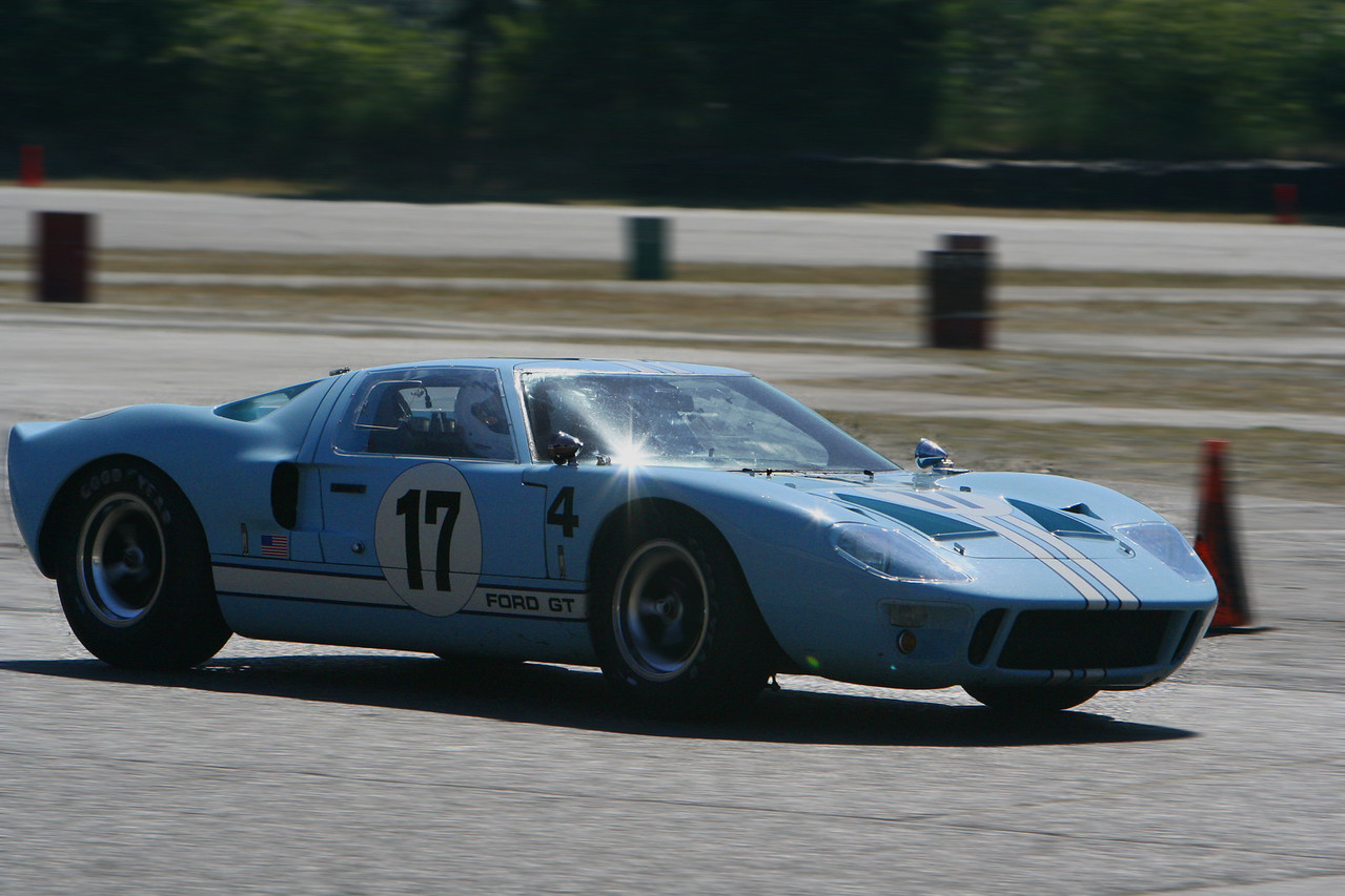 A classic Ford GT40 from the late 1960s. An amazing car!