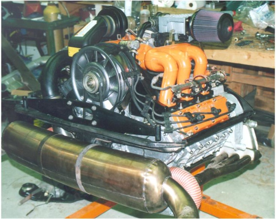 The highly modified 3.2 that was in my '83. It sported 255 dyno verified HP.