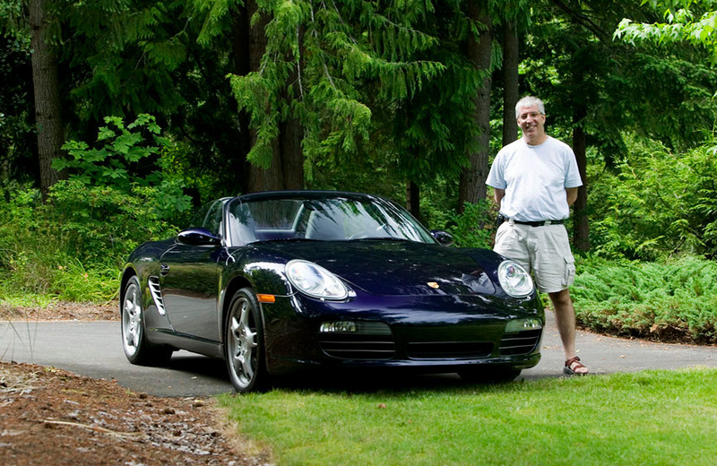 "Me and My Boxster. Photo taken by my friend Chris, see  <a href=""http://adp.photofolio.com"">http://adp.photofolio.com</a>."