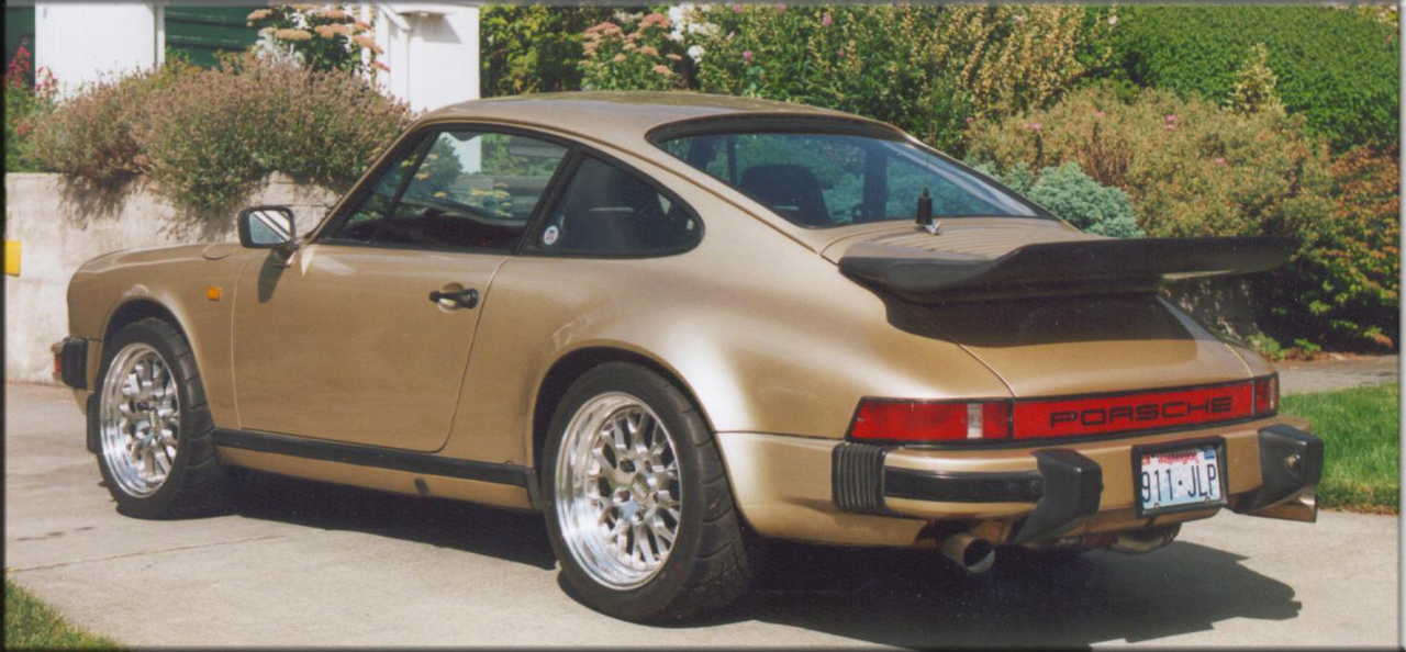 My '83 franken-car with parts from many different years of 911.