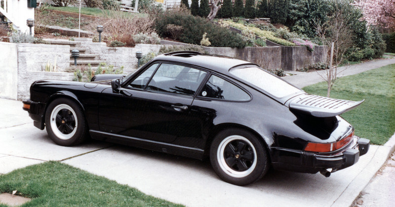 I owned this black beauty, an '86 Carrera, in the late '90s. It was low miles (around 25k) and in impeccable condition.