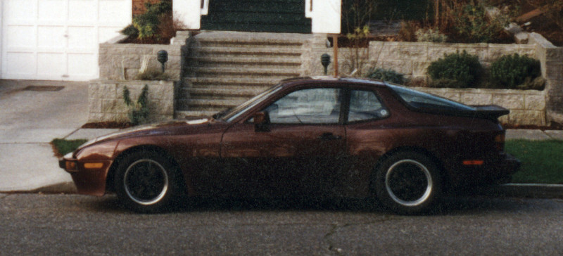 The '85 944 I owned in the mid-'90s. They really do eat timing belts and engine mounts.